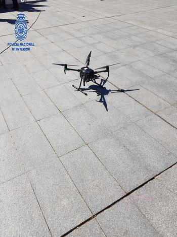 Dos sancionados por vuelos ilegales de dron en Logroño