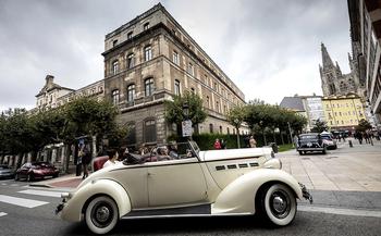 Respuesta masiva a la exposición de vehículos históricos