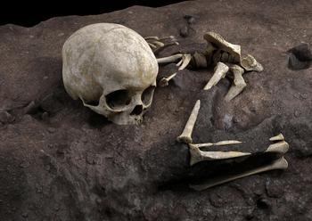 Hallan el enterramiento humano más antiguo de África