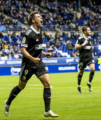 «Estoy feliz porque los goles han servido para ganar»