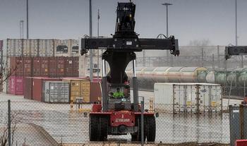 El Puerto Seco, sin tren por escasez mundial de contenedores