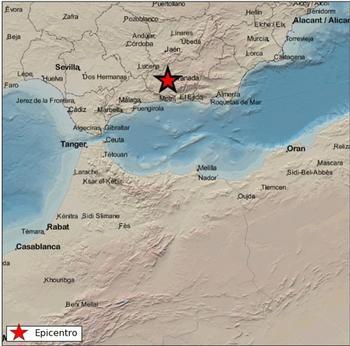 Dos terremotos de magnitud 4,2 y 4,3 sacuden Granada