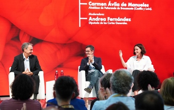 La leonesa Andrea Fernández entra en la Ejecutiva del PSOE
