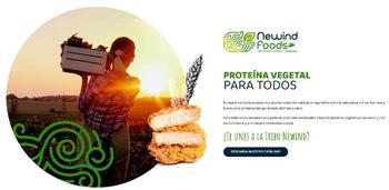 NeWind Foods irrumpe en el sector de la proteína vegetal