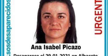 Imagen de Ana Isabel Picazo distribuida a través de redes sociales tras su desaparición.