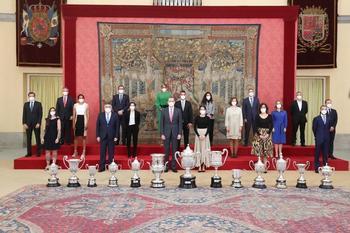 Los Reyes premian a las estrellas españolas del deporte