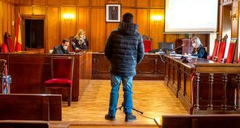 Imagen de archivo del acusado, en el momento de su declaración.