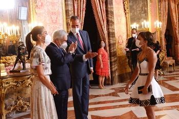 Sandra Sánchez invitada al Palacio Real