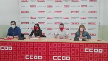CCOO apoya la movilización de los estudiantes