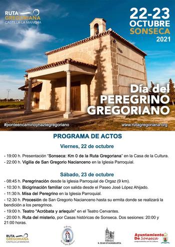 Sonseca celebra desde hoy el 'Día del Peregrino Gregoriano'