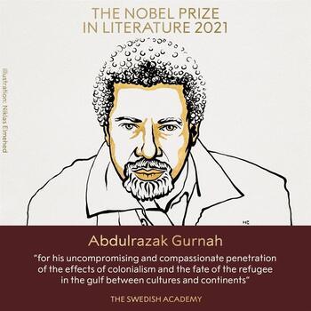 El tanzano Abdulrazak Gurnah, Premio Nobel de Literatura