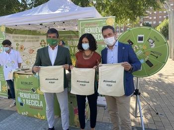 La 'GreenWeek' vuelve a Toledo para el reciclaje de RAEE