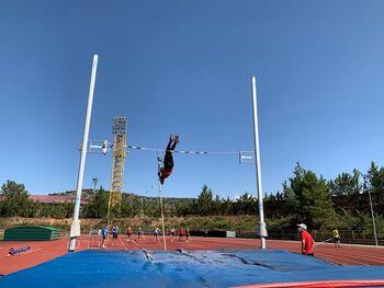 El Atletismo Numantino, líder del decatlón nacional