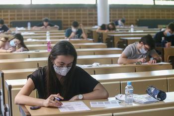 El 19% de los estudiantes logró sobresaliente en la EvAU