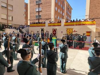 La Guardia Civil de Soria celebra su día en un acto reducido