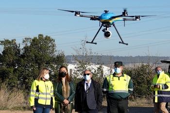 La DGT incorpora el primer dron con capacidad sancionadora