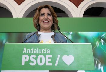 Susana Díaz pide adelantar las primarias en el PSOE andaluz