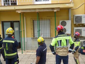 Protección Civil renueva su operativa en apuntalamiento