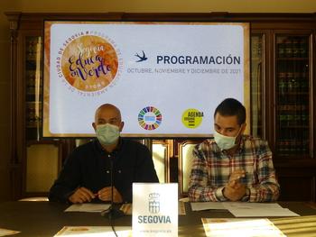 98 actividades de Segovia Educa en Verde hasta diciembre