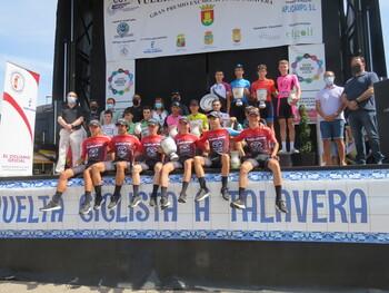 Antonio González gana la Vuelta júnior a Talavera