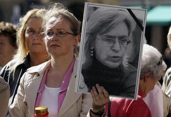 Quince años del asesinato de Anna Politkovskaya