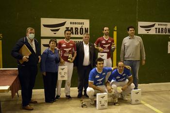Prado y David Merino ganan en Cuzcurrita