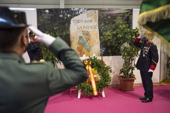 La Guardia Civil festeja a su Patrona con un emotivo acto