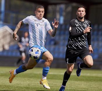 Rodrigo es uno de los dos jugadores del CF Talavera cedidos por el Real Madrid.