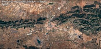 Así ha cambiado Puertollano, a vista de satélite