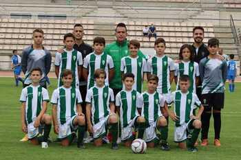 Victoria del Córdoba en el Torneo Nacional de Fútbol Base