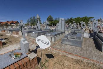 Sale a concurso el arreglo de dos patios del Cementerio