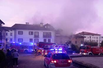 Incendio en dos viviendas de Lekunberri sin heridos