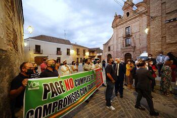 Vox al PSOE: Vox exige a Page, lo que no hace la alcaldesa