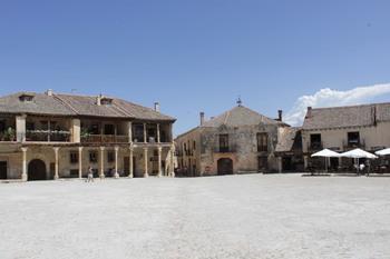 La RAI graba un programa de viajes en Segovia