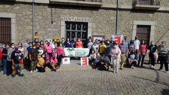 La España Vaciada se 'revuelve' en San Bartolomé de Pinares