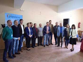 Ibáñez urge a la Junta las variantes de Salas y de Castrillo