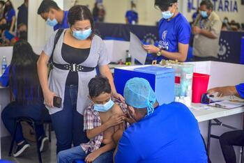 Argentina vacunará contra la COVID a niños a partir de tres años
