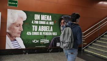 El Gobierno denuncia ante la Fiscalía el cartel de Vox