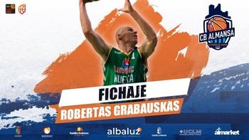 El CB Almansa cierra la plantilla con Grabauskas