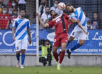 El CF Talavera visita Las Gaunas para prolongar la racha