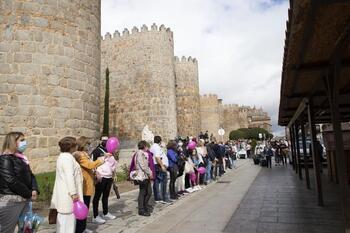 La AECC vuelve a recibir el calor de Ávila