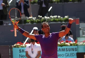 Nadal engulle a Popyrin y avanza sin concesiones en Madrid