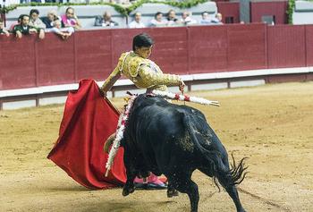 Ponce, Roca Rey y Morenito, en la Feria taurina de Sampedros