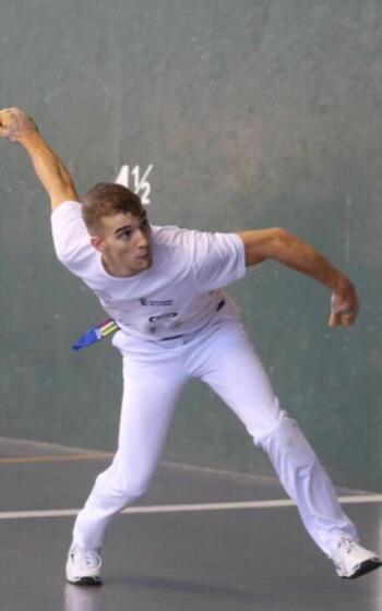 Sergio Gutiérrez, al Europeo de frontball