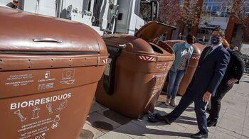 El contenedor marrón para biorresiduos llegará en 2022