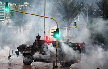 La crisis en Colombia revela el enorme descontento popular