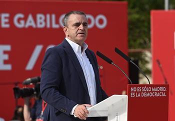 José Manuel Franco, dimite como secretario general del PSOE-M