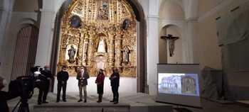 Santa María del Castillo recupera su esplendor