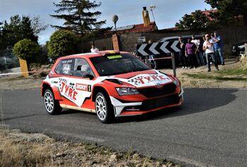 Daniel Marbán certificó su dominio en el Rallye de Ávila