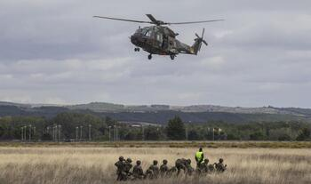 900 militares en la gran prueba de fuego